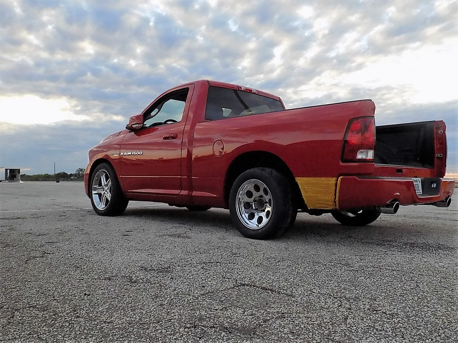 Red 2011 Dodge Ram 1500 R/T