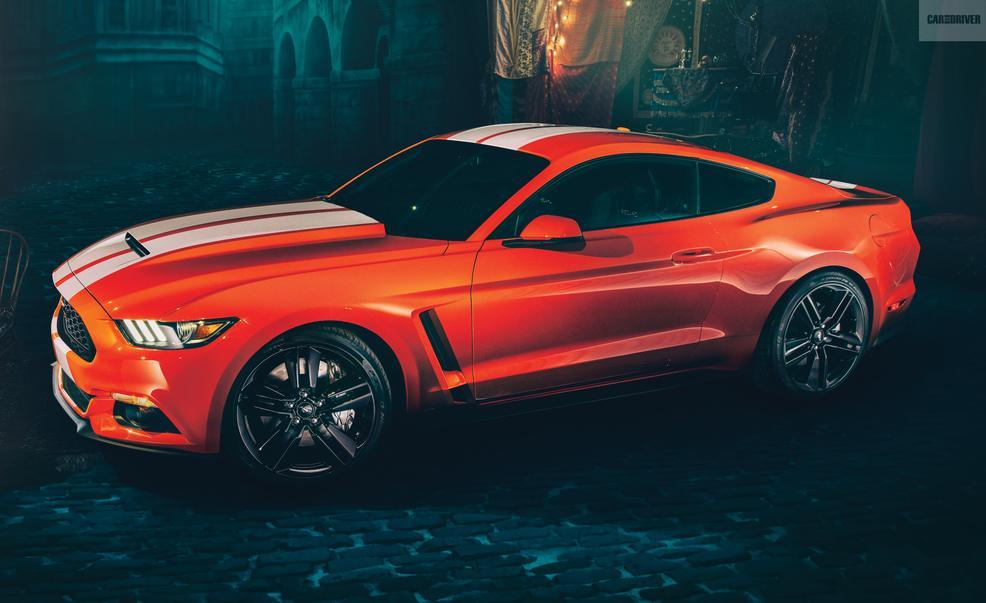 Orange 2016 Ford Mustang Shelby Gt350r