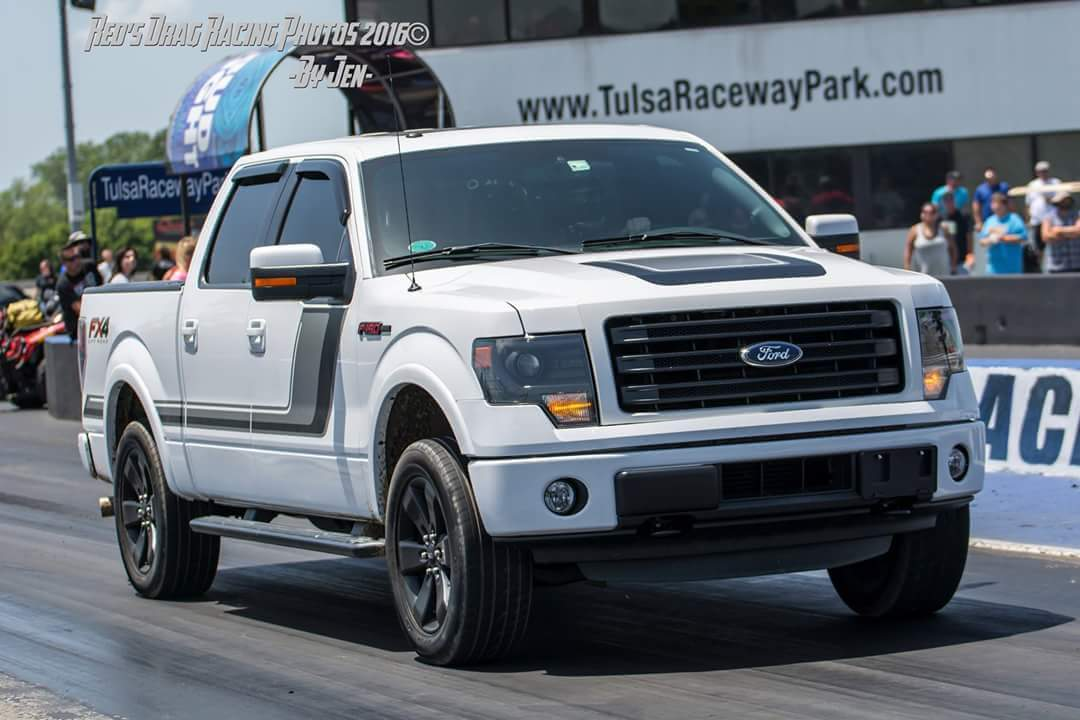 2014 Ford F150 FX4 1/4 mile Drag Racing timeslip specs 0 ...