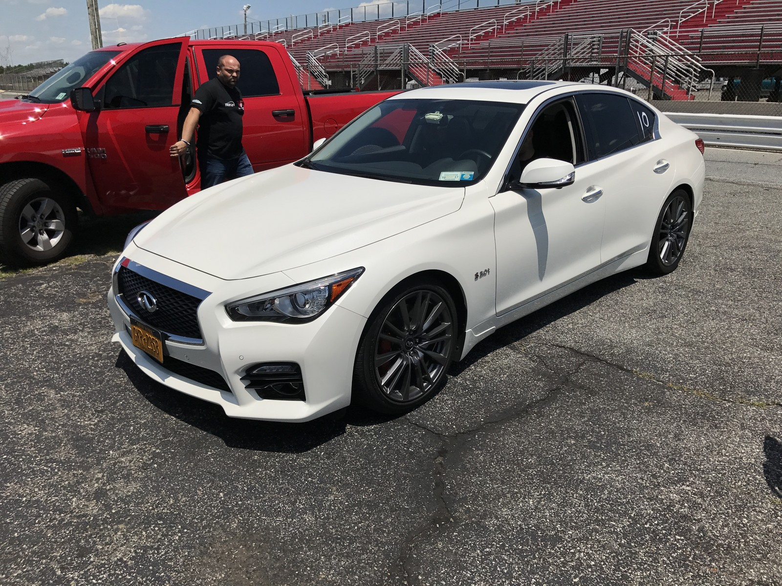 Q50 For Sale >> 2017 Infiniti Q50 Red Sport 1/4 mile Drag Racing timeslip specs 0-60 - DragTimes.com