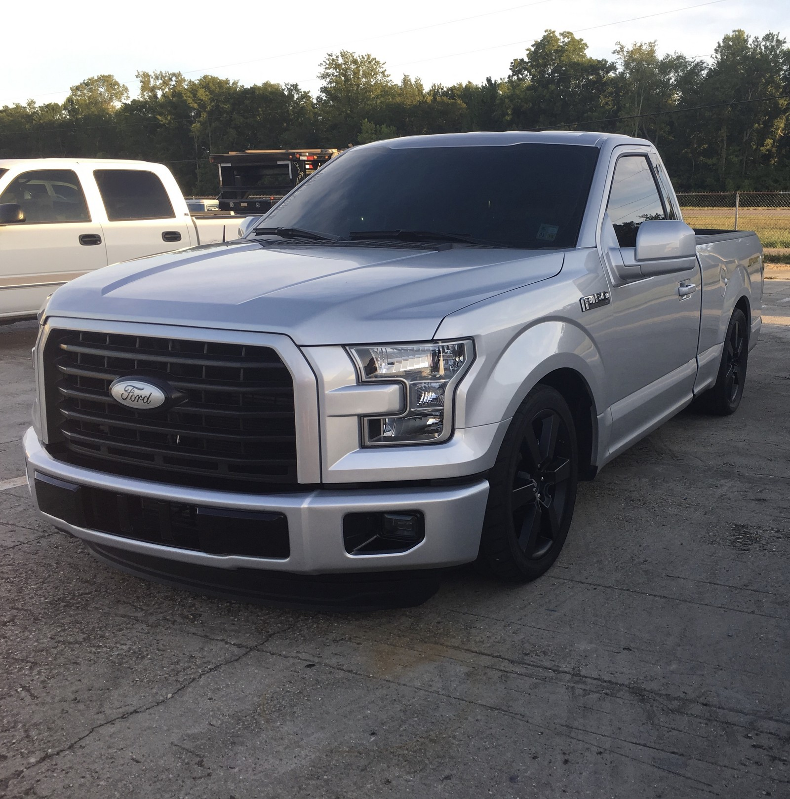 2016 Silver Ford F150 Xl 2wd Picture Mods Upgrades
