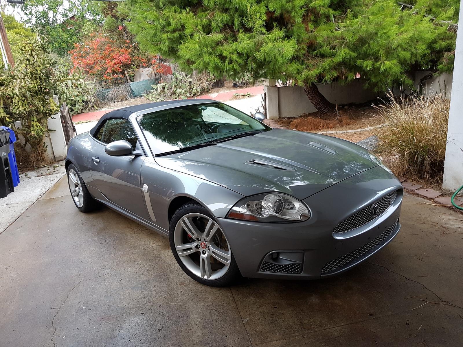 2008 Jaguar XKR Convertible 1/4 mile trap speeds 0-60 ...