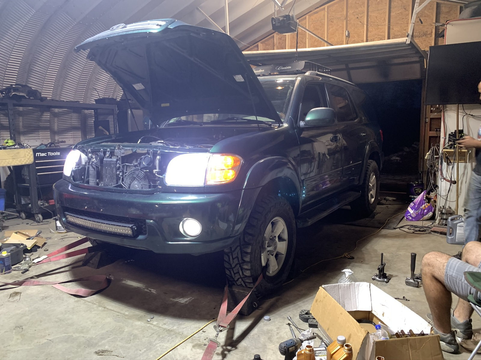 2003 Green Toyota Sequoia Limited picture, mods, upgrades