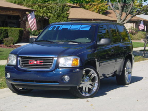 2003 GMC Envoy SLE 1/4 mile trap speeds 0-60 - DragTimes.com