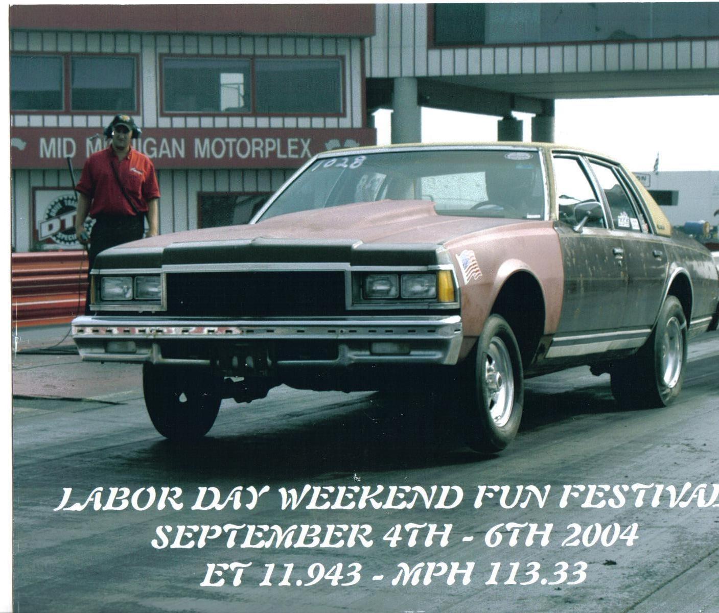 1977 Chevrolet Caprice 1 4 Mile Drag Racing Timeslip Specs