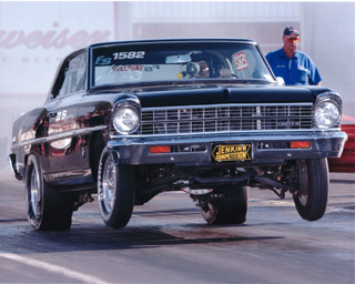 1967 Chevrolet Nova Chevy II 1/4 mile trap speeds 0-60