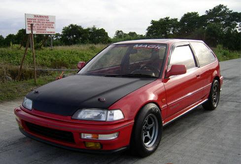 1989 Honda Civic EF9 Hatchback B16a 1/4 mile trap speeds 0-60 - DragTimes.com