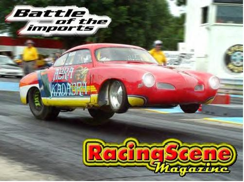 1969 Volkswagen Karmann Ghia Chassis car 1/4 mile Drag Racing