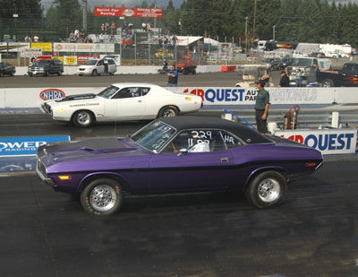 Charger Vs Challenger >> 1970 Dodge Challenger R/T 1/4 mile trap speeds 0-60 ...