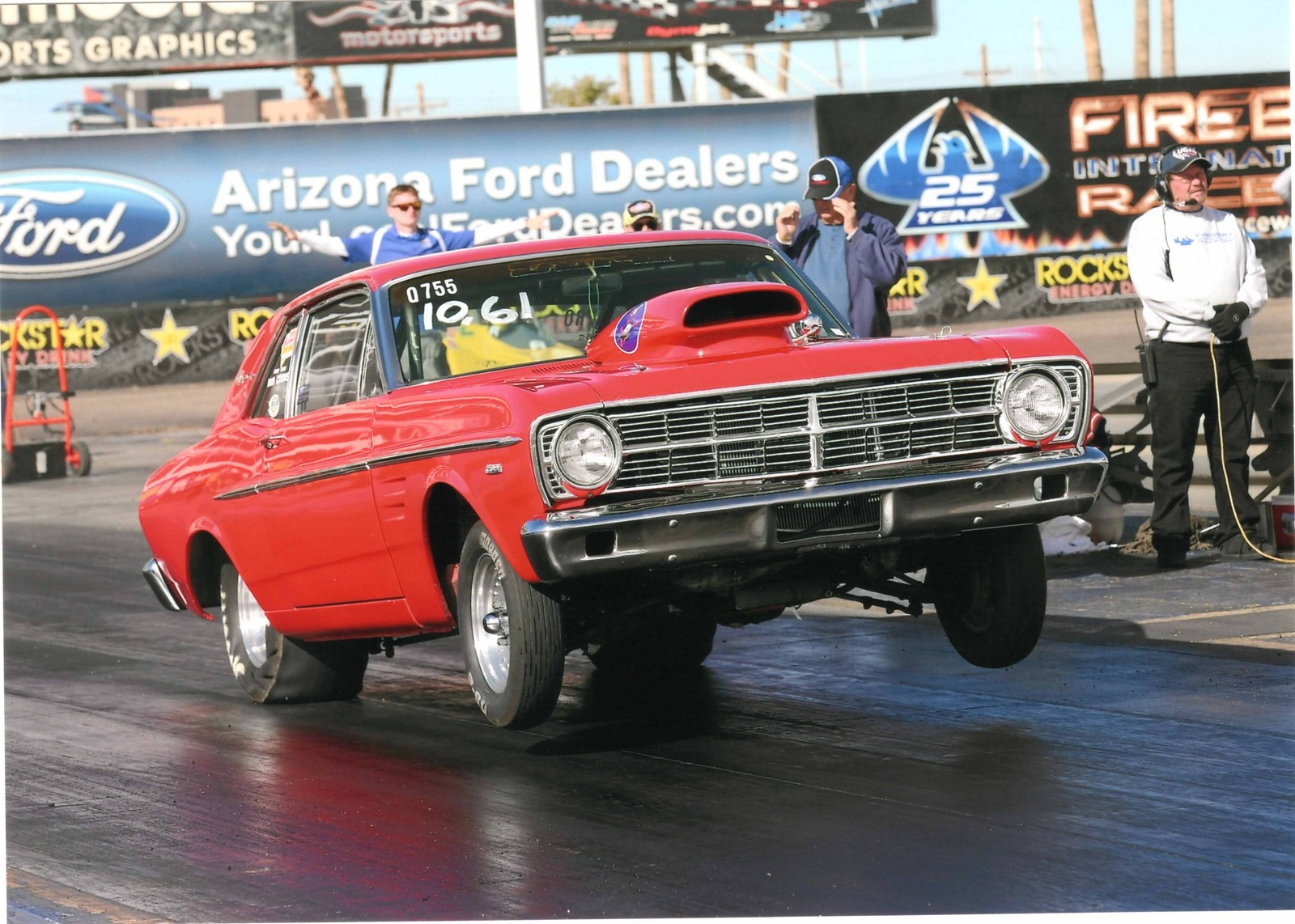 RED 1967 Ford Falcon Sport Coupe