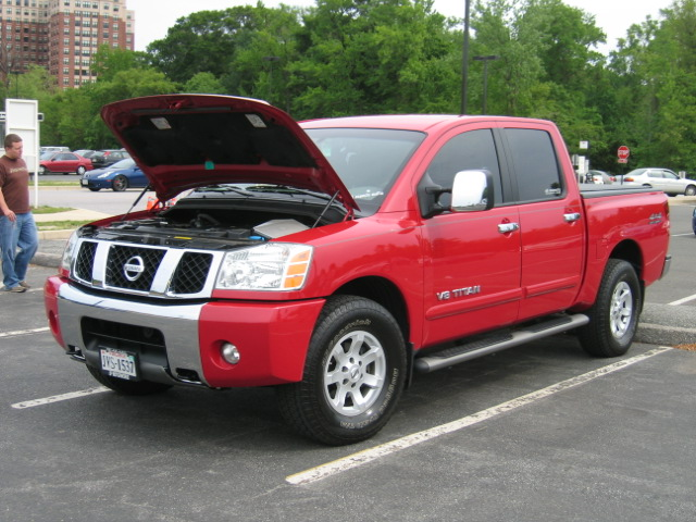 2005 Nissan Titan Se Crewcab 4x4 1 4 Mile Trap Speeds 0 60