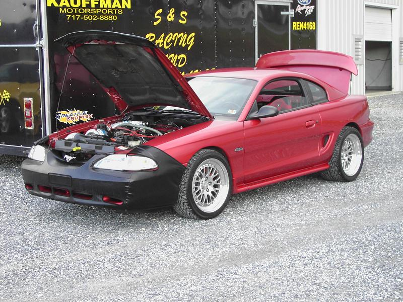 Mustang Gt 0 60 >> 1998 Ford Mustang GT 1/4 mile trap speeds 0-60 - DragTimes.com