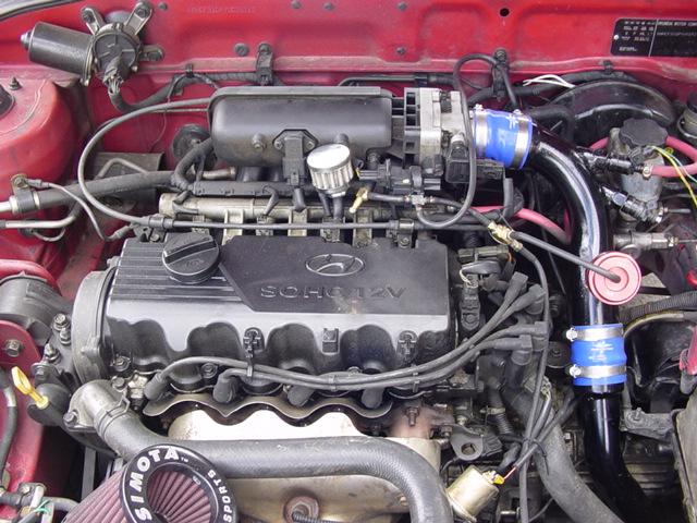 2000 Hyundai Accent Verna Turbo 1/4 mile Drag Racing ...