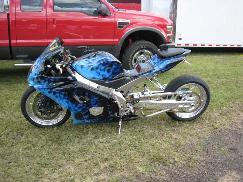 2005 Suzuki GSX-R 1000 Turbo 1/4 mile trap speeds 0-60 - DragTimes com