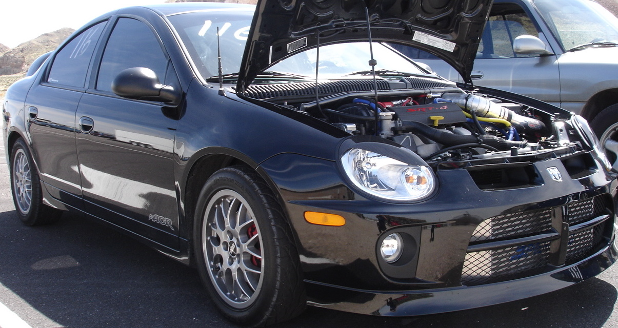 2005 dodge neon srt 4 acr turbo 1 4 mile drag racing. Black Bedroom Furniture Sets. Home Design Ideas