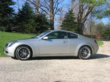 stock 2004 infiniti g35 coupe 1 4 mile drag racing. Black Bedroom Furniture Sets. Home Design Ideas